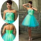 STOCK New Homecoming Party Short Dresses Bridesmaids Evening Prom Ballgown Dress