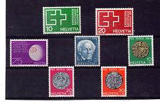Suiza Valores del año 1963-64 (BL-306)