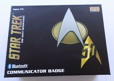 NEW Star Trek TNG Bluetooth Communicator Badge The Next Generation