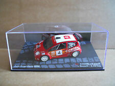 Rally Model Car IXO 1:43 CITROEN C2 S1600 Targa Florio 2004 L. Rossetti [MZ8]