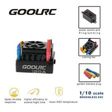 GoolRC 120A 2~6S LiPo Battery Sensored Brushless ESC for 1/8 RC Car US TT A9E3