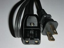 Power Cord for Kenmore Waffle Iron Sandwich Grill Model 632.64682 (2pin 36 inch)