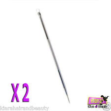 2X Blackhead Remover Cleaner Tool Acne Blemish Needle Pimple Spot Extractor Pin