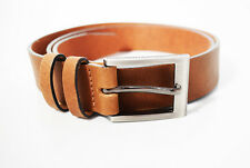 Next Men's Leather Belt Brown Tan