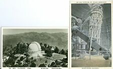 Mount Wilson CA  100 inch Telescope and Dome