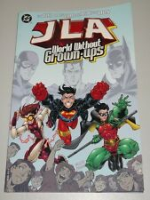JLA WORLD WITHOUT GROWN-UPS DC COMICS DEZAGO RAMOS MCKONE NAUCK   1563894734