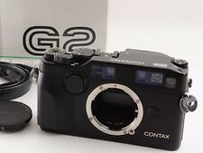 CONTAX G2 Black 35mm Rangefinder Film Camera with Box (READ DESCRIPTION).