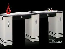 Nail Manicure Table Station Double Size ...Dust Extractor Optional
