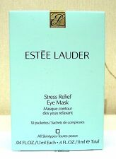 Estée Lauder Stress Relief Eye Mask - 10 sealed packets New & Boxed