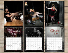 """Volupté"" 2016 wall calendar featuring original photographs by Shoze Studios."