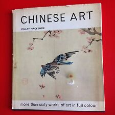 1968 Chinese Art book by Finlay MacKenzie (Antique China Porcelain, Paintings)