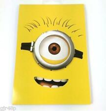 Despicable Me A 5 Minion Notepad Soft Notebook Feint Rule MINIONS MINIONS