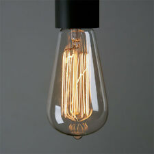 Edison Bulb LED ST64 13FL 40W Vintage Industrial Lighting Room Patio Bar Decor