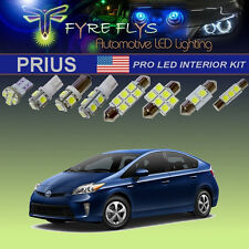 14 Pcs Xenon White LED Lights Package Interior Exterior Pro Kit for Toyota Prius
