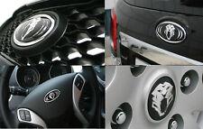 Tigris 3D Emblem Set Grille+Trunk+Horn+Wheel Caps For KIA Forte Cerato 2009 2013