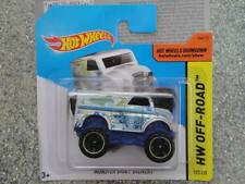 Hot Wheels 2014 # 122/250 Monster Truck lácteos entrega Plata Hw Off-road Lote P