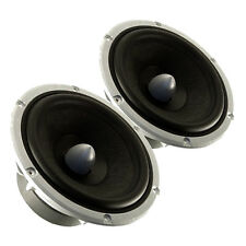 """Pair Peerless 830883 6.5"""" Nomex Cone HDS Woofer 8ohm 60W 87.2dB 1.25""""Coil"""