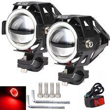 2X Motorrad LED CREE U7 Lampe Licht Zusatzscheinwerfer Scheinwerfer Fernlicht