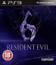 Resident Evil 6 ~ PS3 (in Great Condition)