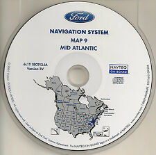 2003 2004 2005 2006 Ford Expedition Navigation CD Map WV VA MD DE Partial PA NJ