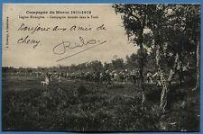 CPA: Campagne du Maroc 1911-1912 - Légion Etrangère - Compagnie montée en Forêt