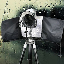 Useful Black Rain Cover Rainproof Dust Protector Raincoat for SLR/DSLR Camera MI