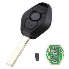 CREATIVE 3 Buttons Uncut Transponder Remote Key Chip Inside for Universal Cars