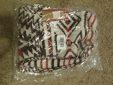 New Women's Hollister multi color Patterned Scarf -One Size