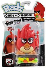 Radz Brand Angry Birds Toy Candy Dispenser and Candy Red