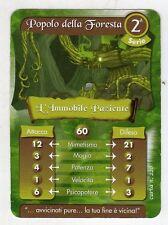 figurina - CARD GORMITI - SERIE 2 L'IMMOBILE PAZIENTE