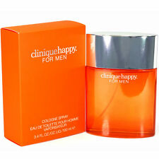CLINIQUE HAPPY Pour Homme Cologne edt for Men 3.4 oz 3.3 Tester