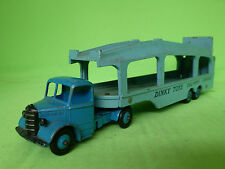 DINKY TOYS 982 BEDFORD PULLMORE CAR TRANSPORTER 1/50 - VERY GOOD CONDITION