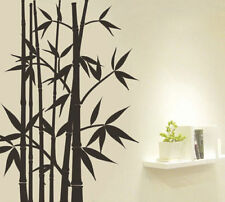 Wall Art Removable Vinyl Decal Asian Japanese Chinese Bamboo Living Room Decor