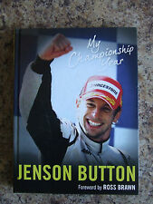 JENSON BUTTON MY CHAMPIONSHIP YEAR HARDBACK FOREWORD BY ROSS BRAWN