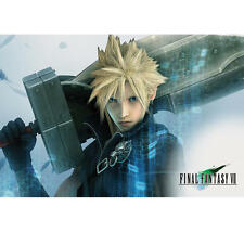 "FINAL FANTASY VII POSTER ""ADVENT CHILDREN""  LICENSED ""BRAND NEW""  CLOUD"