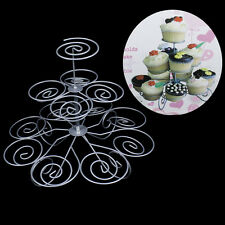 Metal Cardboard Cupcake Cake Stands 3 Tier Dessert Tree Holds Up To 13 cup LD228
