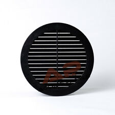 """Circle Air Vent Grille Cover BLACK 100mm (4"""") Ducting Ventilation Grill Cover"""