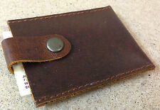 LEATHER Cow Hide Business card holder
