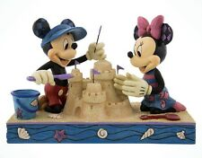 Disney Parks Mickey & Minnie Mouse Seaside Sweethearts Figurine By Jim Shore