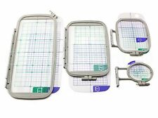 4-Piece Embroidery Hoop Set for Brother PE770 PE700 PE700II Machine - PE-770