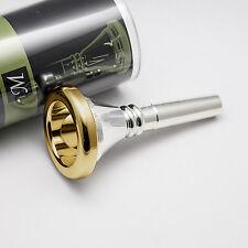 Genuine Marcinkiewicz ST4 24K Gold Rim & Cup Tuba/Sousaphone Mouthpiece NEW