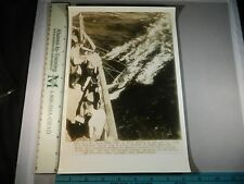 Rare Historical Orig VTG 1942 Yanks Bound For India Wash Clothes In Ocean Photo