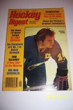 1979 Hockey Digest BUFFALO Sabers DANNY GARE No Label NEWSTAND NHL WHA Schedules