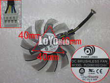 NEW For Power Logic PLD08010S12HH Graphics card fan DC 12V 0.35A 75mm 4-Pin