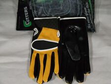 New Receiver Skill RB Tacky Grip Lineman Football Gloves Reebok Schutt Cutter