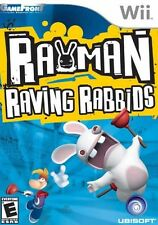 Rayman Raving Rabbids - Nintendo  Wii Game