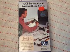 "The ""How-to"" Gunsmithing Series American Gunsmithing Institute VHS tape New"