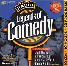 Old Time Radio: Legends of Comedy Smithsonian Collection 10 CD's 10 Hours