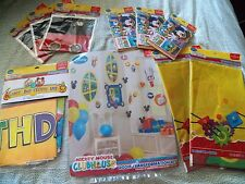 Mickey Mouse Clubhouse Party Supplies - Tablecovers Invites Decorations Loot Bag