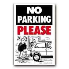 Pas de parking veuillez signer